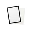 Informationsrahmen DURAFRAME GRIP A4 transparent/schwarz Durable 4968-01 Produktbild