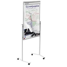 Multiboard PROFESSIONAL 75x120cm mit Rollen grau/weiß Legamaster 7-210500 Produktbild