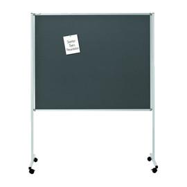 Multiboard XL 120x150cm mit Rollen weiß/grau Legamaster 7-210700 Produktbild