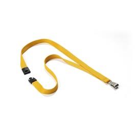 Textilband Soft Colour mit Sicherheits- verschluß 15mm x 44cm ocker Durable 8127-135 (PACK=10 STÜCK) Produktbild