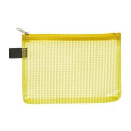 Kleinkrambeutel mit Reißverschluß A6 transluzent/gelb PVC Foldersys 40476-64 Produktbild