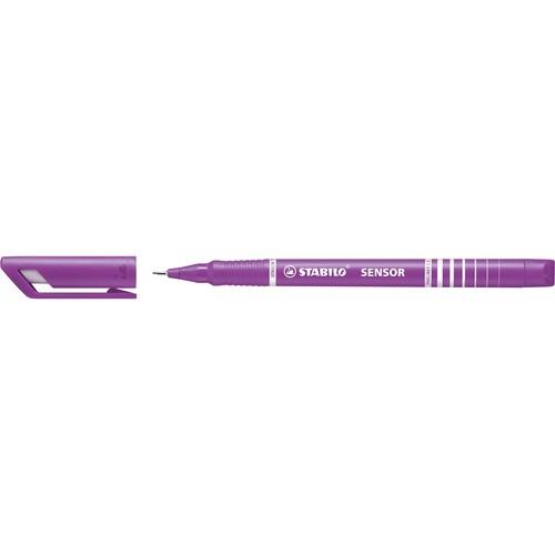 Fineliner Sensor 189 0,3mm gefederte Rundspitze lila Stabilo 189/58 Produktbild