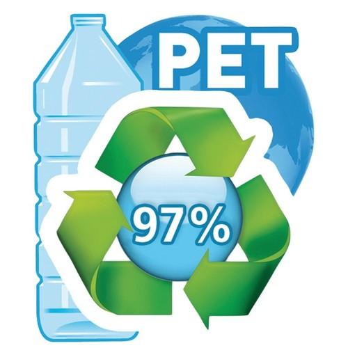 Briefkorb PET für A4 275x70x355mm grün transparent Kunststoff Helit H2363550 Produktbild Additional View 3 L