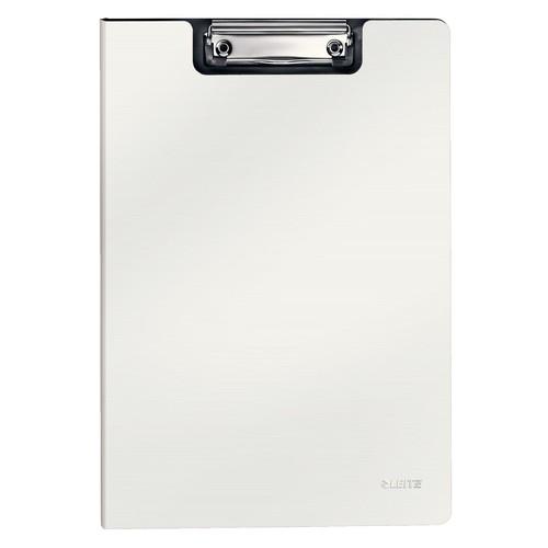 Klemmmappe Solid mit Deckel A4 weiß Polyfoam Leitz 3962-10-01 Produktbild