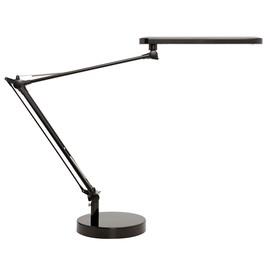 Tischleuchte LED MAMBO mit Standfuß und Klemmfuß schwarz Unilux 400033683 Produktbild