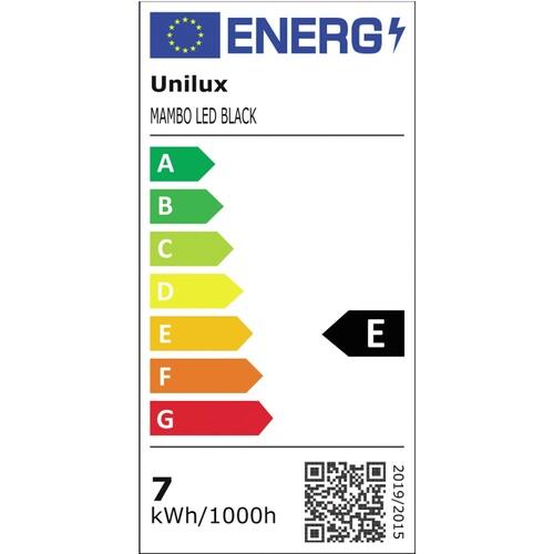 Tischleuchte LED MAMBO mit Standfuß und Klemmfuß schwarz Unilux 400033683 Produktbild Additional View 1 L
