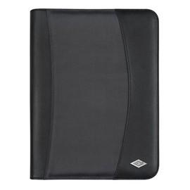 Tagungsmappe mit Reißverschluß Elegance A4 schwarz Wedo 5854301 Produktbild