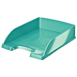 Briefkorb WOW für A4 242x63x340mm eisblau metallic Kunststoff Leitz 5226-30-51 Produktbild
