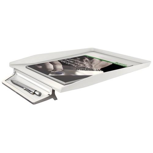 Briefkorb Style für A4 mit Stiftablage 245x48x367mm artik weiß Kunststoff Leitz 5256-00-04 Produktbild Additional View 1 L