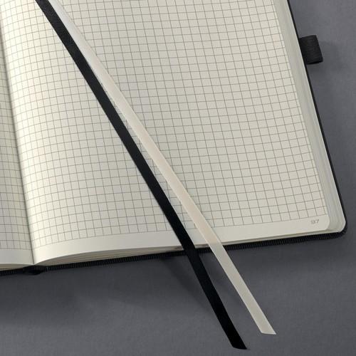 Notizbuch CONCEPTUM Softwave kariert Tablet-Format 180x240mm 80Seiten schwarz Hardcover Sigel CO117 Produktbild Additional View 1 L
