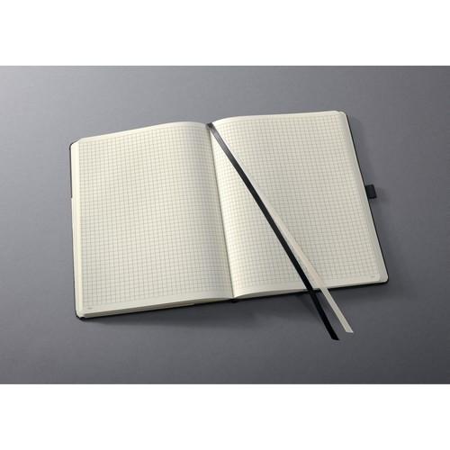 Notizbuch CONCEPTUM Softwave kariert Tablet-Format 180x240mm 80Seiten schwarz Hardcover Sigel CO117 Produktbild Additional View 2 L