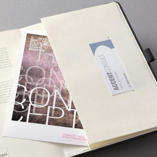Notizbuch CONCEPTUM Softwave kariert Tablet-Format 180x240mm 80Seiten schwarz Hardcover Sigel CO117 Produktbild Additional View 3 L