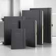 Notizbuch CONCEPTUM Softwave kariert Tablet-Format 180x240mm 80Seiten schwarz Hardcover Sigel CO117 Produktbild Back View S