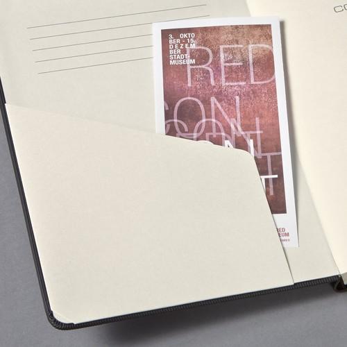 Notizbuch CONCEPTUM Softwave kariert Tablet-Format 180x240mm 80Seiten schwarz Hardcover Sigel CO117 Produktbild Additional View 6 L