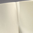 Notizbuch CONCEPTUM Softwave kariert A4 187x270mm 194Seiten black Softcover Sigel CO310 Produktbild Additional View 3 S