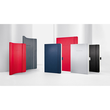 Notizbuch CONCEPTUM Softwave kariert A4 187x270mm 194Seiten red Softcover Sigel CO314 Produktbild Additional View 7 S