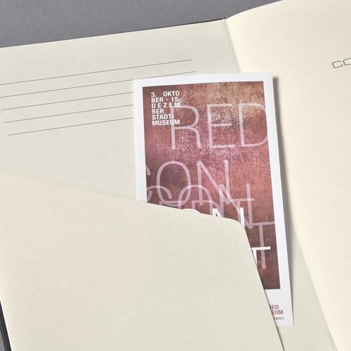Notizbuch CONCEPTUM Softwave kariert A5 135x210mm 194Seiten light grey Softcover Sigel CO322 Produktbild Additional View 4 L