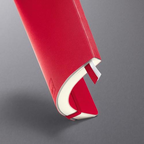 Notizbuch CONCEPTUM Softwave liniert A5 135x210mm 194Seiten red Softcover Sigel CO325 Produktbild Additional View 6 L