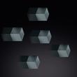 SuperDym-Magnet-Cube C5 artverum 10x10x10mm titangrau stark Sigel GL728 (PACK=6 STÜCK) Produktbild Additional View 3 S