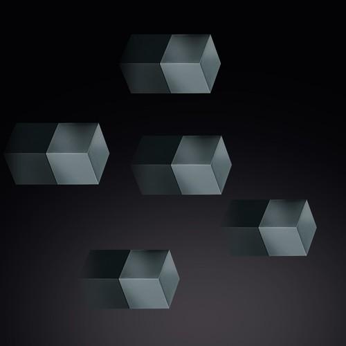SuperDym-Magnet-Cube C5 artverum 10x10x10mm titangrau stark Sigel GL728 (PACK=6 STÜCK) Produktbild Additional View 3 L