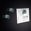 SuperDym-Magnet-Cube C5 artverum 10x10x10mm titangrau stark Sigel GL728 (PACK=6 STÜCK) Produktbild Additional View 2 S
