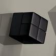 SuperDym-Magnet-Würfel C20 artverum Cube-Design 20x20x20mm schwarz super stark Sigel GL722 (PACK=2 STÜCK) Produktbild Additional View 2 S