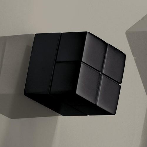 SuperDym-Magnet-Würfel C20 artverum Cube-Design 20x20x20mm schwarz super stark Sigel GL722 (PACK=2 STÜCK) Produktbild Additional View 2 L