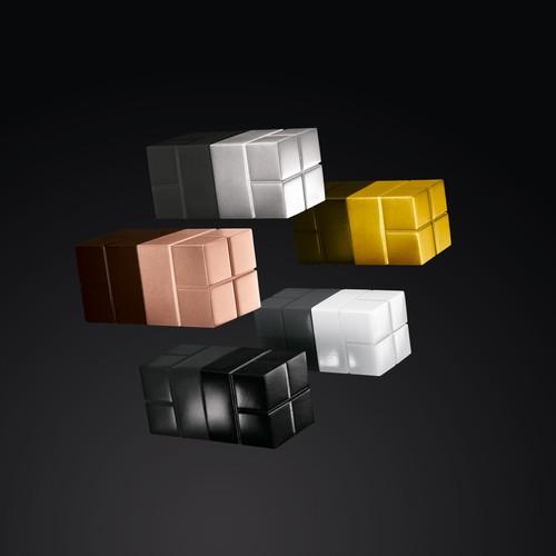 SuperDym-Magnet-Würfel C20 artverum Cube-Design 20x20x20mm schwarz super stark Sigel GL722 (PACK=2 STÜCK) Produktbild Additional View 6 L
