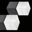 SuperDym-Magnet-Würfel C20 artverum Cube-Design 20x20x20mm weiß super stark Sigel GL723 (PACK=2 STÜCK) Produktbild Additional View 2 S