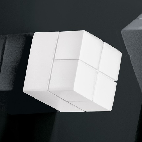 SuperDym-Magnet-Würfel C20 artverum Cube-Design 20x20x20mm weiß super stark Sigel GL723 (PACK=2 STÜCK) Produktbild Additional View 3 L