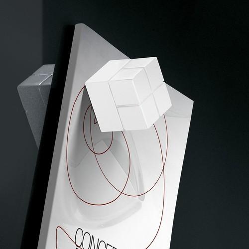 SuperDym-Magnet-Würfel C20 artverum Cube-Design 20x20x20mm weiß super stark Sigel GL723 (PACK=2 STÜCK) Produktbild Additional View 5 L