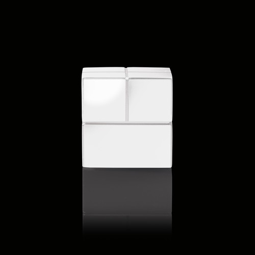 SuperDym-Magnet-Würfel C20 artverum Cube-Design 20x20x20mm weiß super stark Sigel GL723 (PACK=2 STÜCK) Produktbild Additional View 4 L