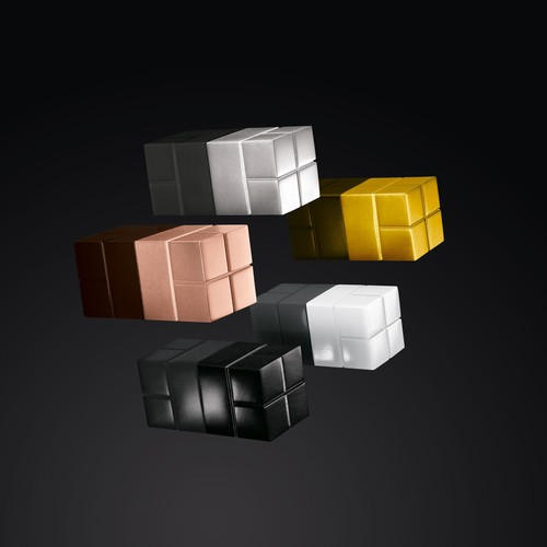 SuperDym-Magnet-Würfel C20 artverum Cube-Design 20x20x20mm weiß super stark Sigel GL723 (PACK=2 STÜCK) Produktbild Additional View 6 L