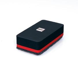Tafelwischer 90x45x26mm schwarz magnetisch Sigel GL187 Produktbild