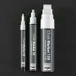 Kreidemarker 50 artverum 1-5mm Keilspitze weiß abwischbar und fluoreszierend Sigel GL184 (PACK=2 STÜCK) Produktbild Additional View 5 S