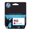Tintenpatrone 953 für HP OfficeJet Pro 8210/8700 10ml magenta HP F6U13AE Produktbild