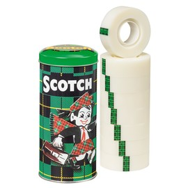 Klebeband Scotch Magic 810 19mm x 33m matt unsichtbar Promotion 3M 8-193332 (DS=8 ROLLEN) Produktbild