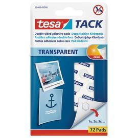 Klebepads TACK doppelseitig klebend wiederablösbar Tesa 59408-00000-00 (PACK=72 STÜCK) Produktbild