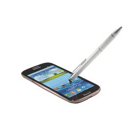 Eingabestift Stylus 2in1 Complete für Touchscreen Geräte silber Aluminium Leitz 6415-00-84 Produktbild