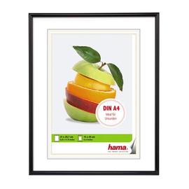 Bilderrahmen Sevilla mit Kunststoff- rahmen Polystyrol 21x29,7cm schwarz Hama 00061626 Produktbild
