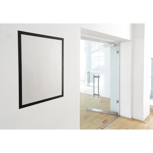Informationsrahmen DURAFRAME 50x70cm schwarz selbstklebend Durable 4996-01 Produktbild