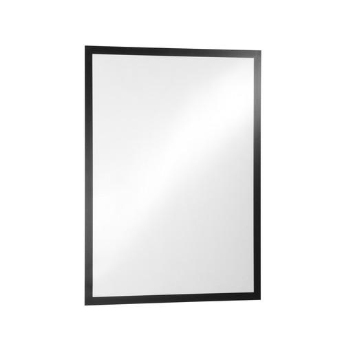 Informationsrahmen DURAFRAME A1 schwarz selbstklebend Durable 4997-01 Produktbild Front View L