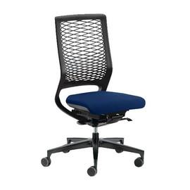 Drehstuhl Mera88 ohne Armlehnen ohne Kopfstütze mit Netzrücken Farbe 0428-70 Navy dunkelblau Klöber Produktbild