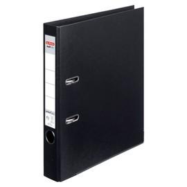 Ordner maX.file protect+ A4 50mm schwarz Kunststoff Herlitz 10834729 Produktbild