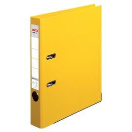 Ordner maX.file protect+ A4 50mm gelb Kunststoff Herlitz 10834778 Produktbild