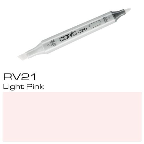 Copic Ciao Typ RV21 Rund- und Keilspitze light pink Holtz 22075179 Produktbild Additional View 1 L