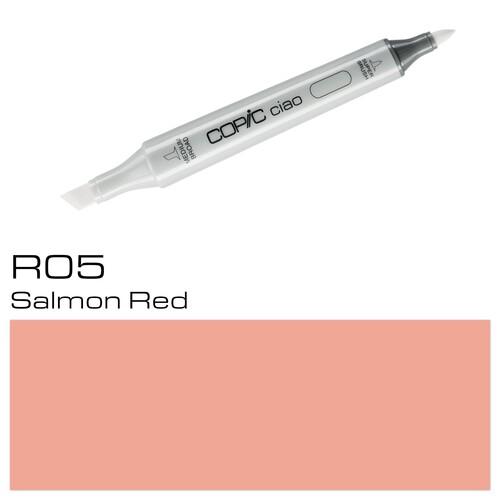 Copic Ciao Typ R05 Rund- und Keilspitze salmon red Holtz 22075184 Produktbild Additional View 1 L