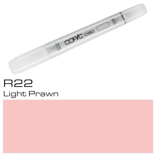 Copic Ciao Typ R22 Rund- und Keilspitze light prawn Holtz 22075306 Produktbild