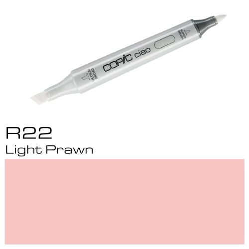Copic Ciao Typ R22 Rund- und Keilspitze light prawn Holtz 22075306 Produktbild Additional View 1 L