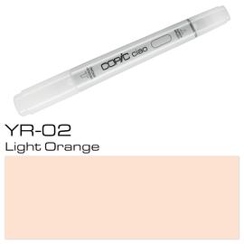 Copic Ciao Typ YR02 Rund- und Keilspitze light orange Holtz 22075189 Produktbild